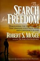 Cover of: The search for freedom