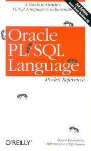 Cover of: Oracle PL/SQL Language Pocket Reference
