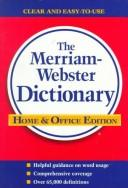 Cover of: The Merriam-Webster dictionary. |