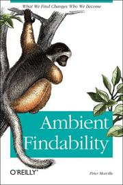 Cover of: Ambient Findability
