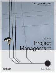 Cover of: The art of project management