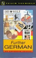 Cover of: Further German