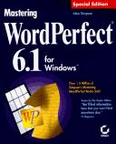 Cover of: Mastering WordPerfect 6.1 for Windows