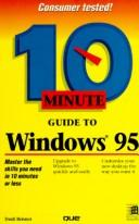 Cover of: 10 minute guide to Windows 95