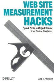 Cover of: Web Site Measurement Hacks | Eric Peterson, Eric T. Peterson