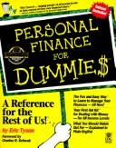 Cover of: Personal finance for dummie$