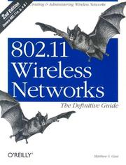 802.11 wireless networks by Matthew Gast