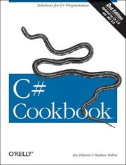 Cover of: C# Cookbook | Jay Hilyard