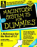 Cover of: Macintosh system 7.5 for dummies