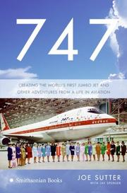 Cover of: 747 | Joe Sutter