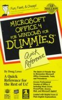Cover of: Microsoft Office 4 for Windows for dummies