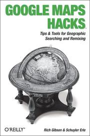 Cover of: Google Maps Hacks | Rich Gibson