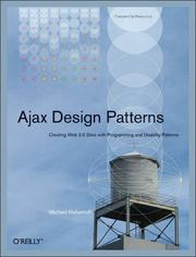 Cover of: Ajax Design Patterns | Michael Mahemoff