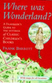 Cover of: Where Was Wonderland?