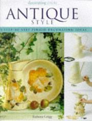Cover of: Decorating Tricks Antique Style Step (Decorating Tricks)