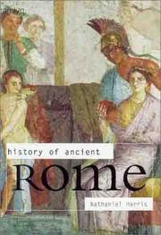 Cover of: History of ancient Rome