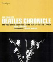 Cover of: The Complete Beatles Chronicle | Mark Lewisohn