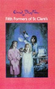 Cover of: Fifth Formers of St Clare's | Enid Blyton