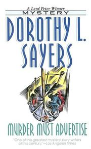 Cover of: Murder Must Advertise | Dorothy L. Sayers