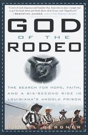 Cover of: God of the rodeo | Daniel Bergner