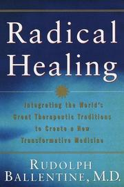 Cover of: Radical healing