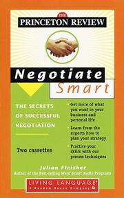 Cover of: Princeton Review Negotiate Smart | Princeton Review
