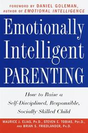 Cover of: Emotionally intelligent parenting
