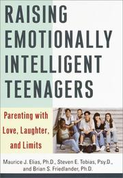 Cover of: Raising emotionally intelligent teenagers