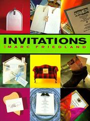 Cover of: Invitations | Marc Friedland