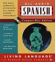 Cover of: All-Audio Spanish CD (LL(R) All-Audio Courses) | Irwin Stern