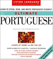 Cover of: Ultimate Portuguese (LL(R) Ultimate Basic-Intermed) | Lourdes Filoco