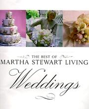 Cover of: The Best of Martha Stewart Living Weddings (Best of Martha Stewart Living) | Martha Stewart Living Magazine