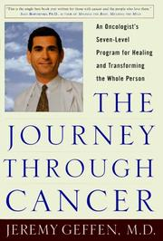 Cover of: The Journey Through Cancer | Jeremy R. Geffen