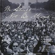 Cover of: We shall not be moved