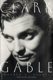 Cover of: Clark Gable