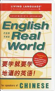 Cover of: English for the real world for Chinese speakers
