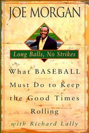 Cover of: Long Balls, No Strikes