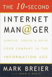 Cover of: The 10 Second Internet Manager
