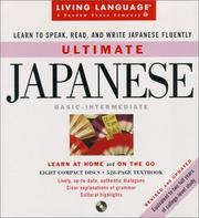 Cover of: Ultimate Japanese: Basic-Intermediate