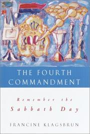 Cover of: The Fourth Commandment