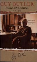 Cover of: Essays and lectures, 1949-1991