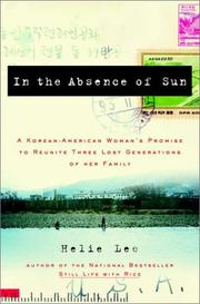 Cover of: In the Absence of Sun | Helie Lee