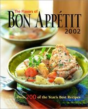 Cover of: The Flavors of Bon Appetit 2002 (Flavors of Bon Appetit)