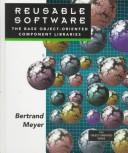 Cover of: Reusable software | Bertrand Meyer