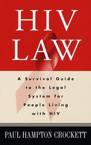 Cover of: HIV Law