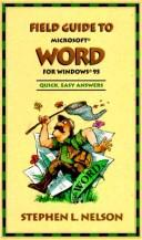 Cover of: Field guide to Microsoft Word for windows 95