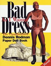 Cover of: Bad as I wanna dress