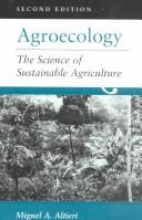 Cover of: Agroecology | Miguel A. Altieri