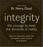 Cover of: Integrity CD: The Courage to Meet the Demands of Reali