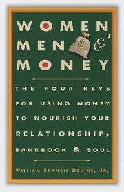 Cover of: Women, Men, and Money | William Fran Jr Devine